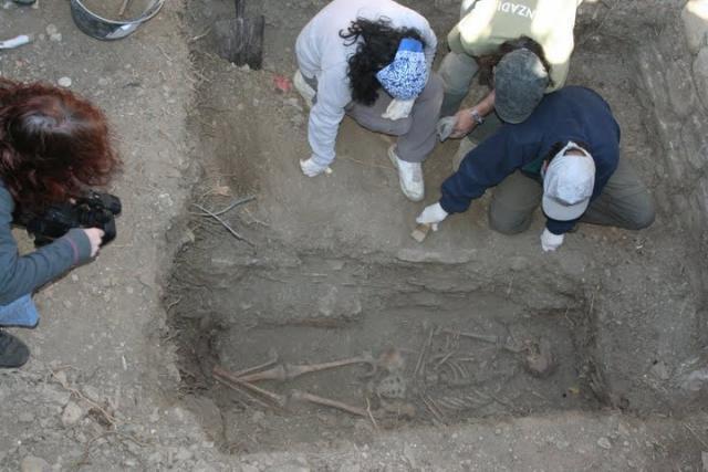 exhumación Cecilio Gallego